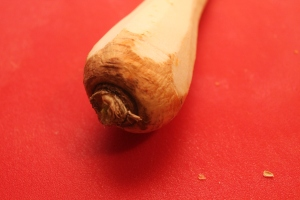Parsnips add a wonderful flavor to other root vegetable purees.