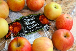 Organic Gala Apples from Trader Joe's