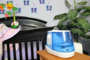 Humidifier for her nursery where she sleeps every night.