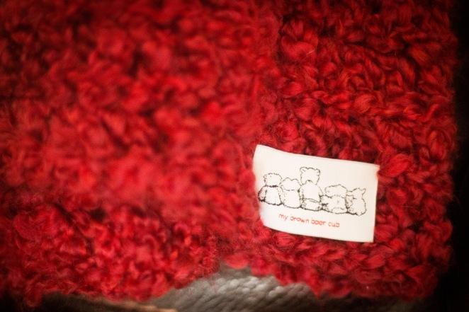 Twins Afghans closeup of mybrownbaercub tags