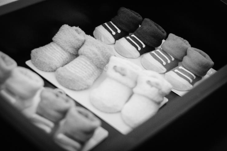 Newborn Socks for tiny, skinny legs.