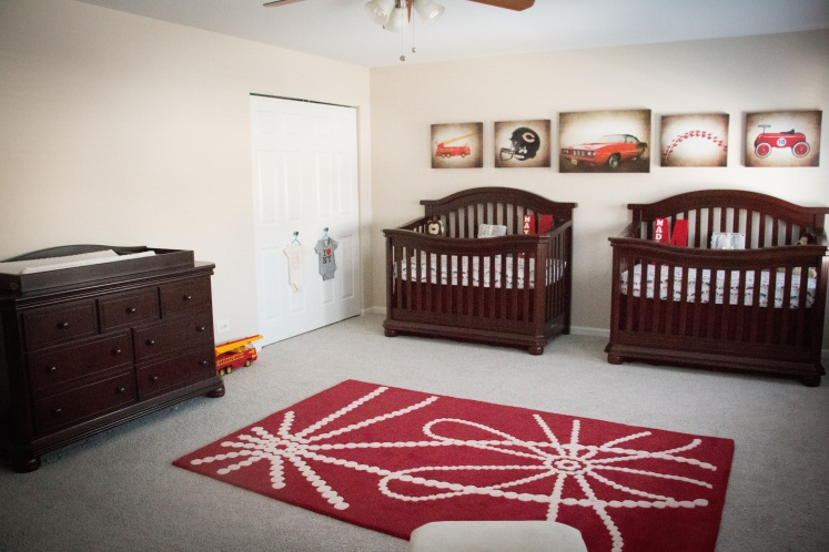 Another angle of the nursery.