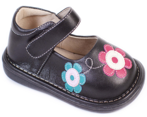 The Wee Squeak Flower Garden Shoe